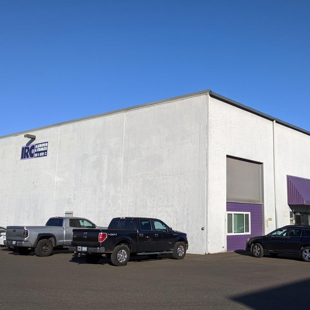 IRC's Portland Cutting and Warehousing Facility in Portland Oregon