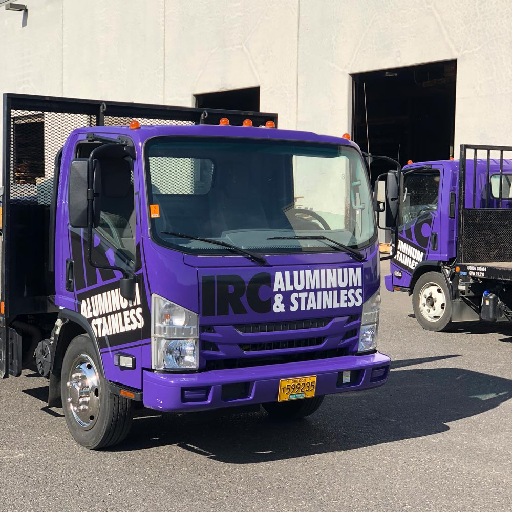 IRC's Purple Trucks