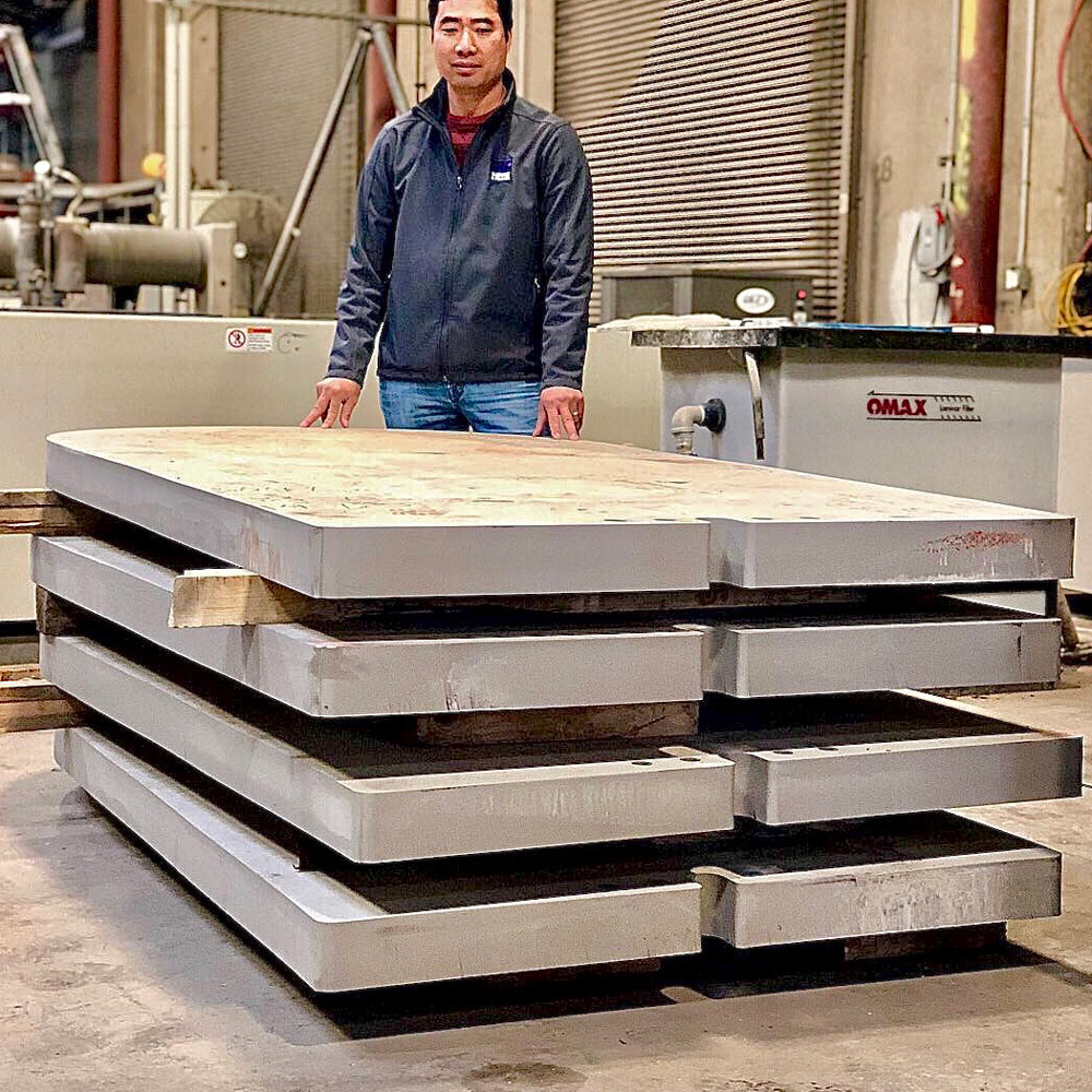 4 Inch Thick 316L Stainless Steel Plates