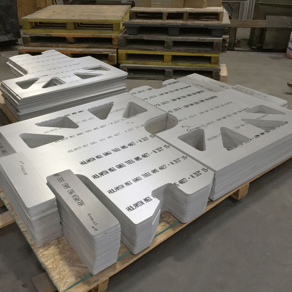 6061 Aluminum Fabrication Parts