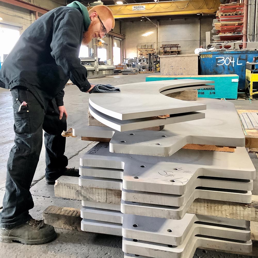 Big Stainless Steel Plates