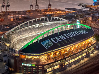 Signage for Century Link Field in Seattle
