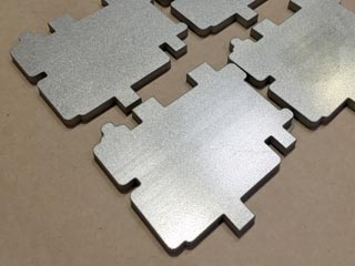 Waterjet-Cut Prodec Stainless Parts