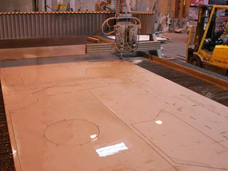 Large Format Flow Waterjet