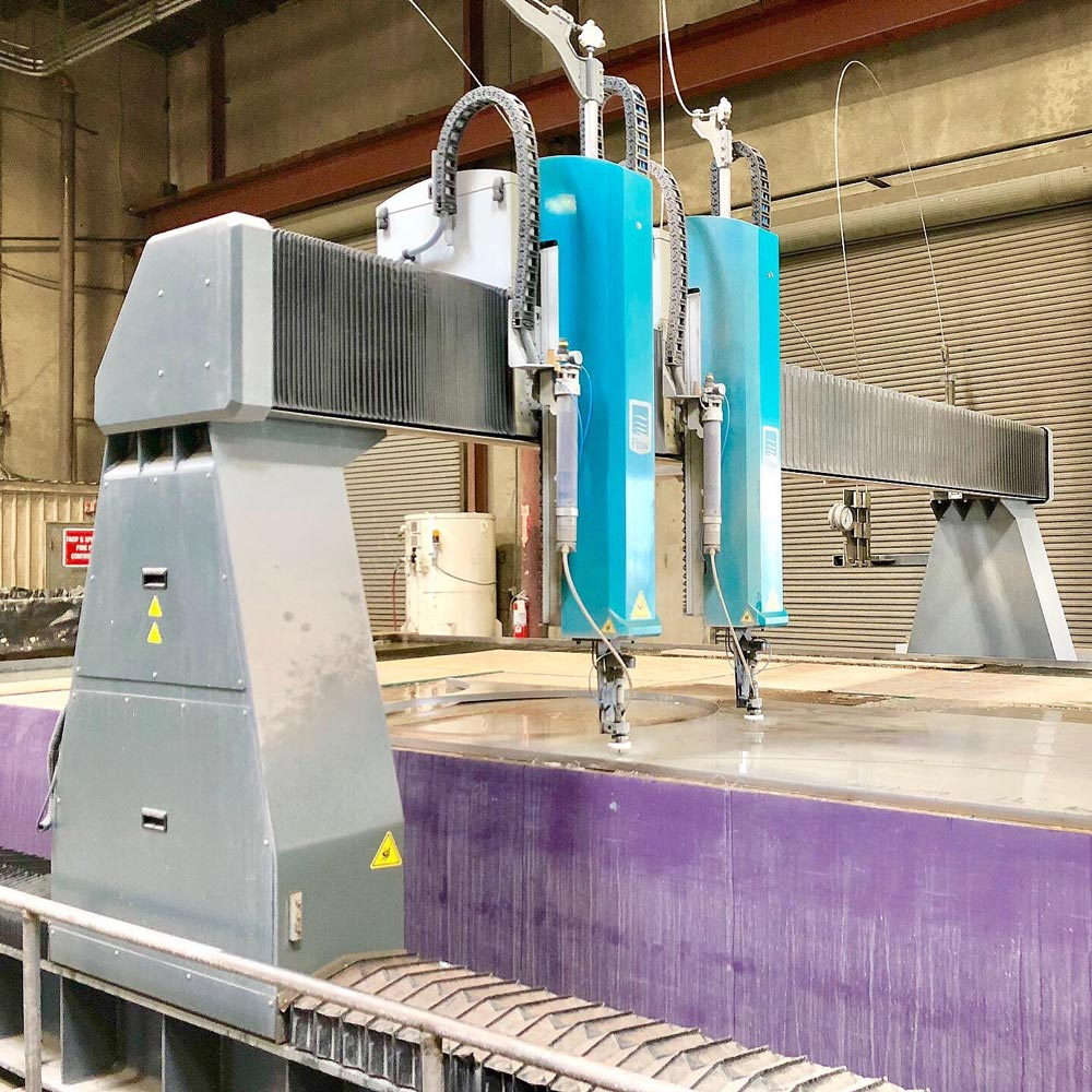 Flow Mach 700 Waterjet: Dual Head