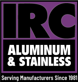 IRC Aluminum and Stainless logo