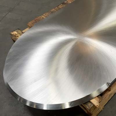 machined and beveled stainless steel